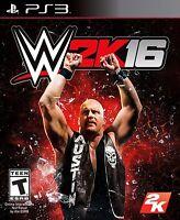 NEW WWE 2K16 (Sony PlayStation 3, 2015) 16 2016