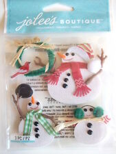 Jolee'S BOUTIQUE Pegatinas 3D-Muñecos De Nieve-Navidad Muñeco de nieve