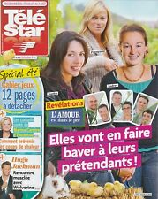 Télé Star / 22-07-2013 N°1921 : Hugh Jackman - Emily Deschanel - Shemar Moore