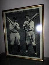 "Professionally Framed Print - White Sox ""Shoeless"" Joe Jackson & Ty Cobb"