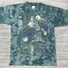 Liquid Blue Vintage 90's T-Shirt Two Bald Eagles Single Stitch size Medium