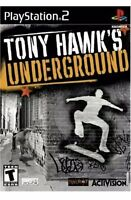 Tony Hawk's Underground 1 PlayStation 2 PS2 Skateboarding Game Collectible T-kid