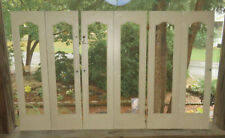 """6 Panels Curtain Style INTERIOR WOOD SHUTTERS 26"""" Tall ~GET CREATIVE!~"""