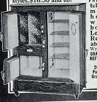 1916 Leonard Cleanable Refrigerator Grand Rapids Advertisement