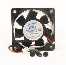 60mm 25mm New Case Fan 24V DC PC 25CFM Sleeve Brg 2Wire Cooling 6025 336*