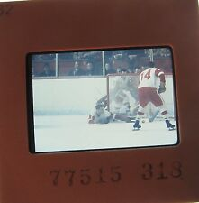 ROGER CROZIER Detroit Red Wings Buffalo Sabres Capitals ORIGINAL SLIDE 23