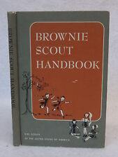 Ray Mitchell  BROWNIE SCOUT HANDBOOK  1959 HC Illust'd