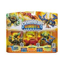 Skylanders Giants__PRISM BREAK_ERUPTOR_DROBOT figures_Lightcore Exclusive 3 Pack