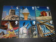 QE2 2007 FU SG 2734/39 BESIDE THE SEASIDE STAMPS SET