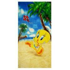 Licensed Looney Tunes Tweety Bird Beach Vacation Fiber Reactive Re Beach Towel