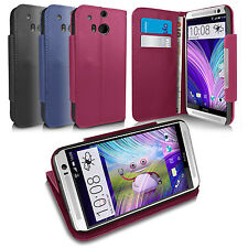 GENUINE COTECHS LEATHER WALLET FLIP STAND CASE FOR HTC ONE M8