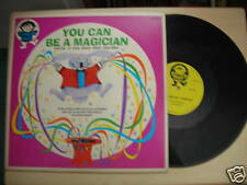 Simon Says Records YOU CAN BE A MAGICIAN LP 60s