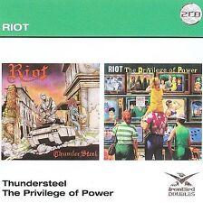 Thundersteel/The Privilege of Power by Riot (CD, Nov-2009, 2 Discs, Ironbird)
