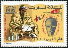 YT 608 Marokko Briefmarke neu hervorragend Jahr der Erziehung 1970
