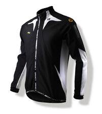 Spakct Fleece Windproof Cycling Velvet Jacket C6 Black/White XL Sun Protective
