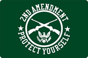 Hunting 2nd Amendment America Freedom Patriate Protection Homes Garden Signs Art