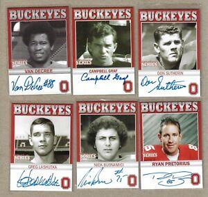 TK Legacy Ohio State Six Card Lot #5