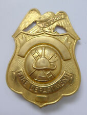 US Feuerwehr Großes Mützenabzeichen --fire department--