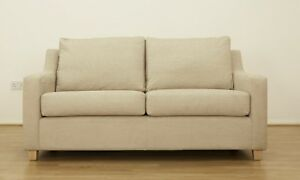 John Lewis Bizet Large Sofa, Natural Semi-Plain Fabric, Sale Now only £399