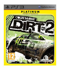 Colin McRae DiRT 2 -- Platinum Edition (Sony PlayStation 3, 2010)