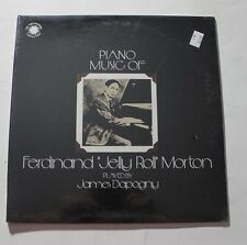 JELLY ROLL MORTON Piano Music Of Ferdinand Jelly Roll... CBS N-003 US 1976 M 4A