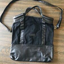 Olsenboye Large Black Messenger Crossbody Bag Purse Tote
