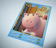 carte collector Disney Pixar (Auchan) Bayonne - Toy story  n°69/135