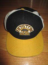 New Era BOSTON BRUINS Vintage BEAR Logo (Adjustable) Cap