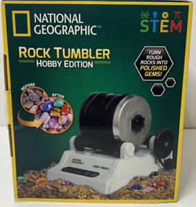 National Geographic Rock Tumbler Hobby Edition Turns Rocks Into Polished Gems