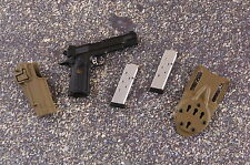 1/6 Scale SOLDIER STORY Marine Raiders MSOT M1911 PISTOL, HOLSTER, MAGS