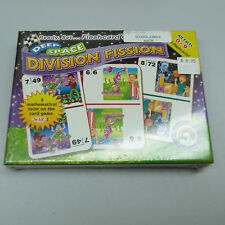 THE NICKEL STORE: DIVISION FISSION FLASHCARDS, ALL FACTS 0-9, BRAND NEW (B15)