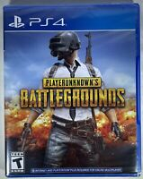 NEW PlayerUnknown's Battlegrounds (PlayStation 4, 2018) Factory Sealed PS4 PUBG