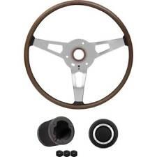1970 Dodge Challenger Wood Grain Rim Blow Steering Wheel Kit