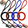Nylon Rope Slip Dog Lead 5ft Pet Collar Training Show Leash Puppy Walking Chains