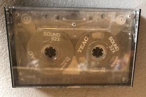 TEAC Sound 52x Bias/Normal EQ/120 Aluminum Cassette Audio Tape