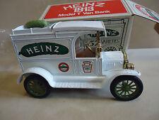 HEINZ Pickles HEINZ 1913 MODEL T VAN BANK ERTL STOCK #1345 THE FIRST Pickle