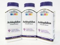 21st Century Acidophilus Probiotic Blend Capsules 150ct -3 Pack -Exp 07-2022