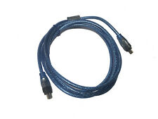 6 FEET 4 to 4 PIN IEEE 1394 FIREWIRE iLINK CABLE 5FT PC MAC DV