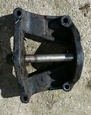 Leyland Marshall Nuffield tractor front axle trunnion bracket & centre pivot pin