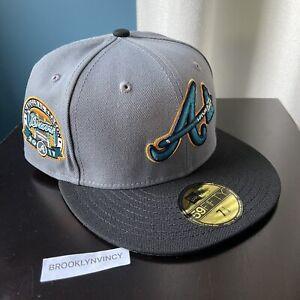 New Era Atlanta Braves 7 1/8 Not Hat Club Crosscheck Ice Cold Fashion Myfitteds