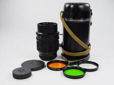 20 aperture blades !! Telelens TAIR-11A 2.8/135mm M42. s/n 857165. Zenit KMZ.