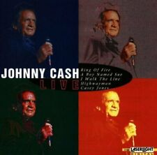 Johnny Cash Live  [CD]