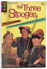 Three Stooges 47 Gold Key 1970 VG Robin Hood Moe Larry Photo Cover