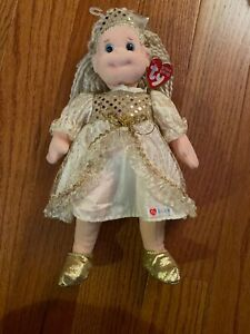 GLITZY GABBY FROM TY BEANIE BOPPER COLLECTION DOLL, 2001 NWT W/TY Gear Outfit