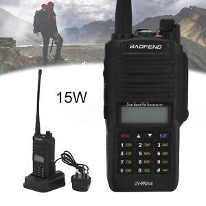 Baofeng UV-9R Plus Long Range Walkie Talkie VHF UHF Dual Band Handheld Radio 15W