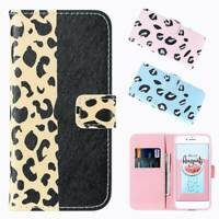 PU Leather Stand Wallet Magnetic Flip Phone Cover Case for iPhone x Samsung S10