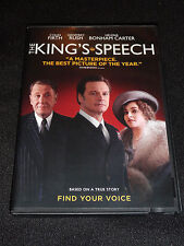 THE KINGS SPEECH DVD (LIKE NEW)