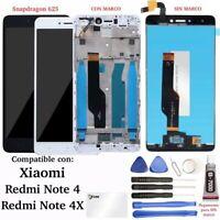 Pantalla Completa para Xiaomi Redmi Note 4, Note 4X, LCD + Tactil + Marco (opcio