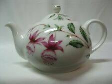 1879 Union Porcelain Works Adaptation Fuchsia Blossom Teapot