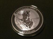 2015-P Australia 1 Troy Oz .999 Silver Koala $1 Coin in Perth Mint Cap